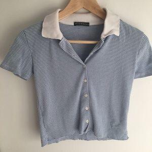 Brandy Melville button up shirt